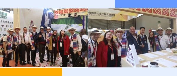 La Federación Nacional de Cafeteros de Colombia en la República Popular China participó en Hotelex Shanghai 2019