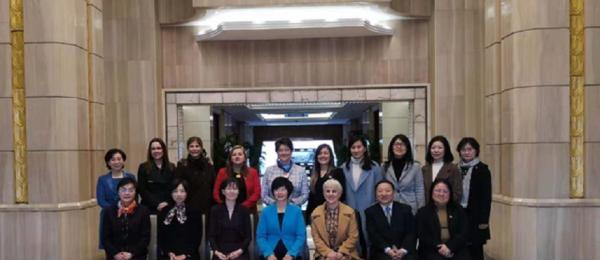 Con motivo del Día de la Mujer la Cónsul de Colombia Luz Helena Echeverry sostuvo un encuentro con la Vice Alcaldesa de Shanghái
