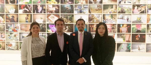 Cónsul General de Colombia en Shanghái realiza visita de cortesía a instituciones culturales