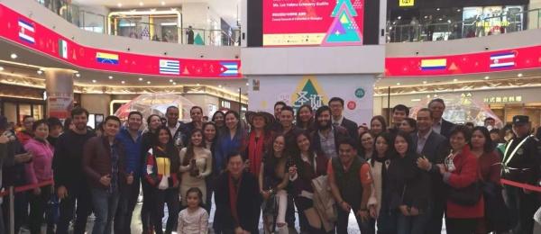 Consulado de Colombia participó en Festival de Navidad Latino en Shanghái